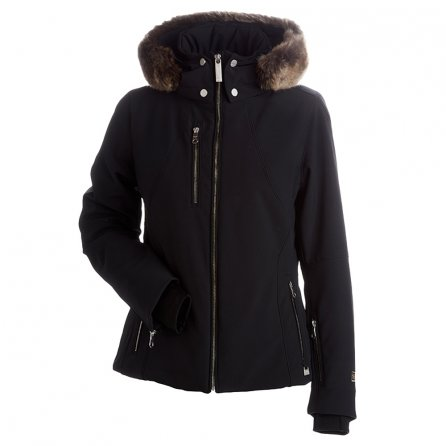 Nils Kassandra Ski Jacket with Faux Fur (Women's) - Black