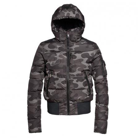 Goldbergh Katana Down Bomber Ski Jacket (Women's) - Jungle Camoflauge Jersey