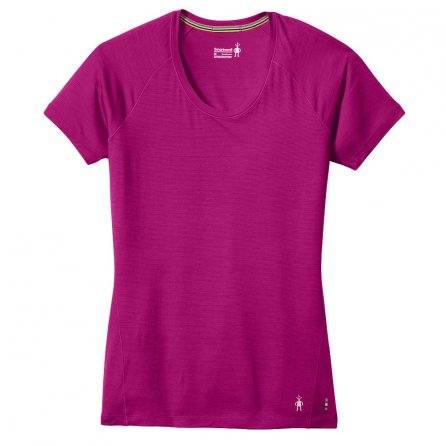 SmartWool Merino 150 Pattern Short Sleeve Baselayer (Women's) - Berry