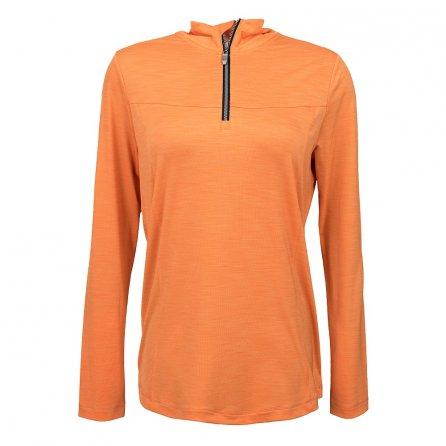 Killtec Vaeda 1/4-Zip Turtleneck Mid-Layer (Women's) - Apricot