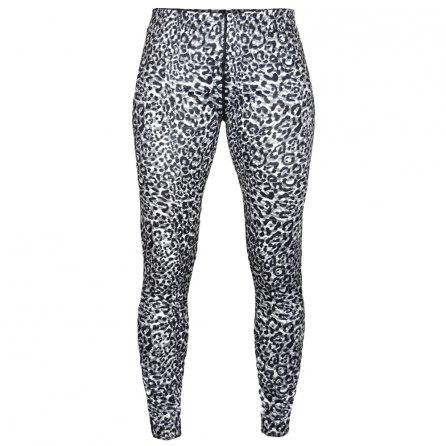 Hot Chillys Peachskin Print Bottom Baselayer (Women's) - Snow Leopard