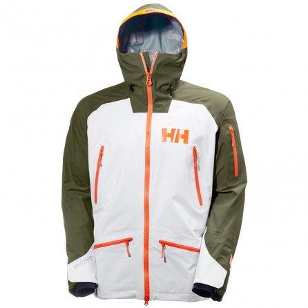 Helly Hansen Ridge Shell Ski Jacket (Men's) - Ivy Green