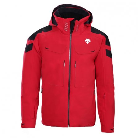 Descente Swiss Ski Jacket (Men's) - Electric Red/Black