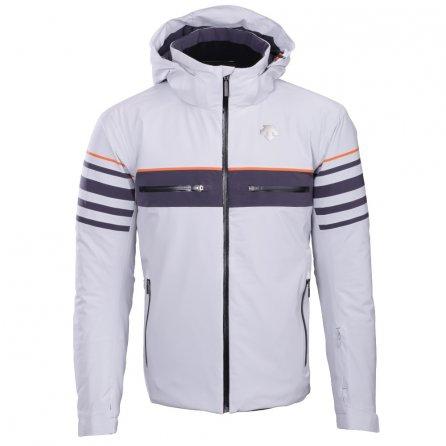 Descente Editor Ski Jacket (Men's) - Moonstone Gray/Anthracite Gray/Blaze Orange