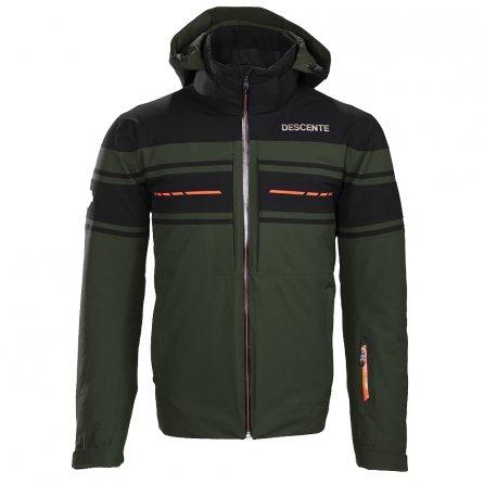 Descente Canada Ski Cross GD Ski Jacket (Men's) - Winter Moss/Black/Blaze Orange