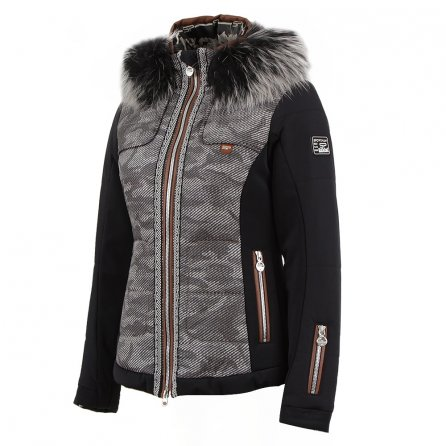 Sportalm Vail Insulated Ski Jacket with Fur (Women's) - Black
