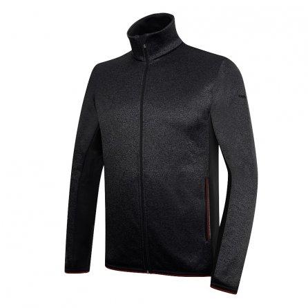 Rh+ Knit Fleece Full Zip Jacket (Men's) - Black