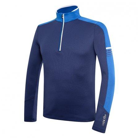 Rh+ Logo Jersey Mid-Layer (Men's) - Dark Blue/Snorkle Blue