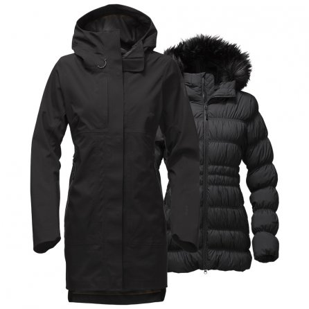 The North Face Cryos GORE-TEX Triclimate Jacket (Women's) - TNF Black