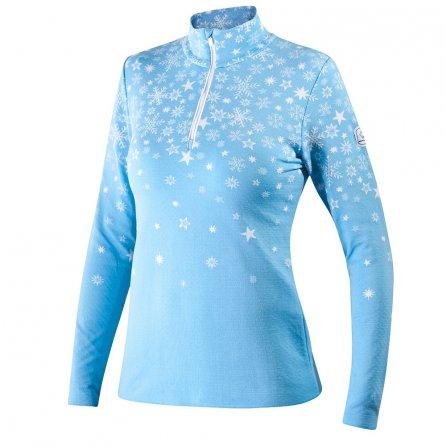 Newland Marebbe Half-Zip Sweater (Women's) - Light Blue