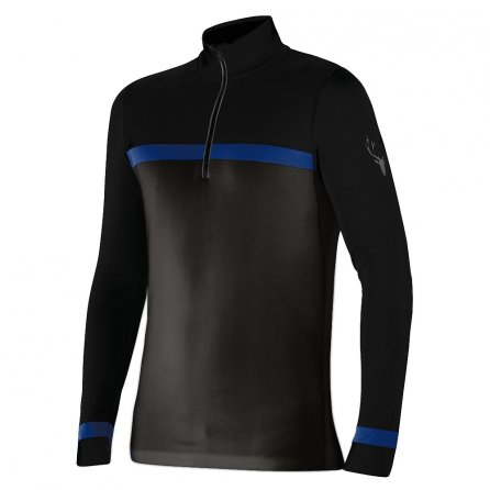 Newland Latemar Half-Zip Sweater (Men's) - Dark Gray/Black