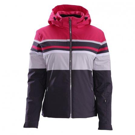 Descente Rowan Jacket (Women's) - Crimson Pink/Moonstone Gray