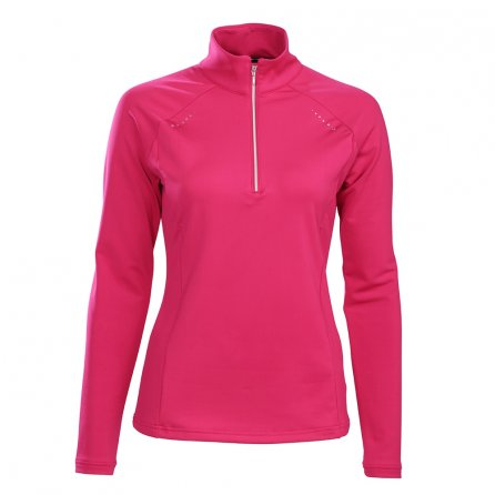 Descente Kelsey Turtleneck Mid-Layer (Women's) - Crimson Pink
