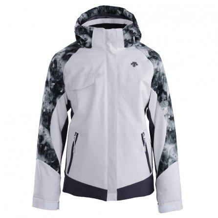Descente Khloe Jacket (Girls') - Super White/Galaxy Black/Anthracite Gray