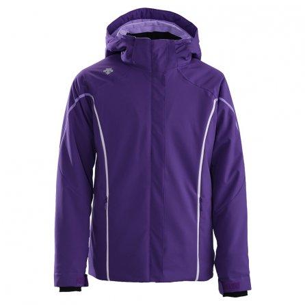 Descente Paige Ski Jacket (Girls') - Purple/Super White/Orchid