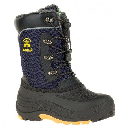 Kamik Luke Boots (Boys') - Navy/Yellow