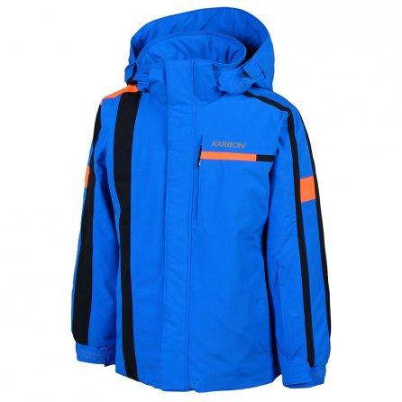 Karbon Exhaust Ski Jacket (Boys') - Olympic Blue/Black