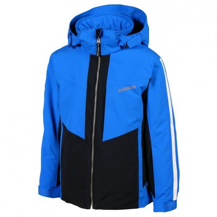 Karbon Brake Ski Jacket (Boys') - Olympic Blue/Black/Arctic White