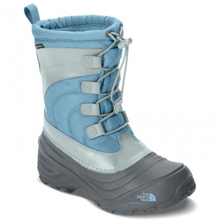 The North Face Alpenglow IV Winter Boot (Little Kids') - Blizzard Blue/Ice Blue