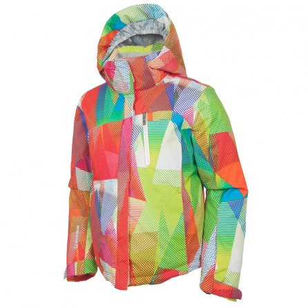 Sunice Naquita Ski Jacket (Girls') - Geo Patchwork