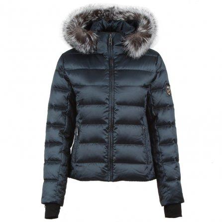 Skea Didi Parka with Real Fur (Women's) - Anthracite/Chrome
