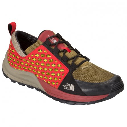 The North Face Mountain Sneakers (Men's) - Fir Green/Rudy Red