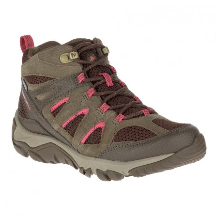 Merrell Outmost Mid Vent Waterproof Hiking Boot (Women's) - Canteen
