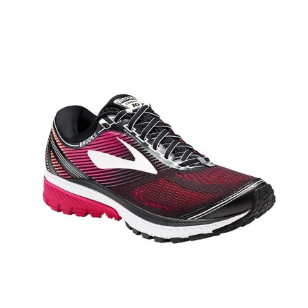 Brooks Ghost 10 Road Running Shoes (Women's) - Black/Peacock