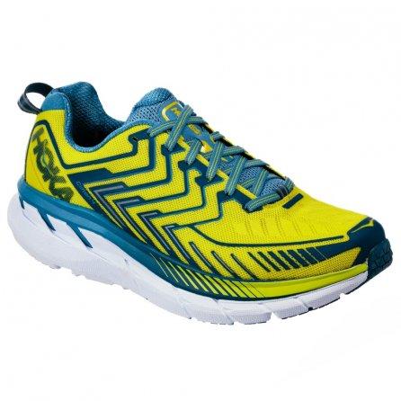 Hoka One One Clifton 4 Running Shoes (Men's) - Sulphur Spring/Midnight