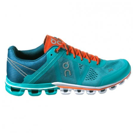 On Cloudflow Running Shoe (Women's) - Atlantis/Flame