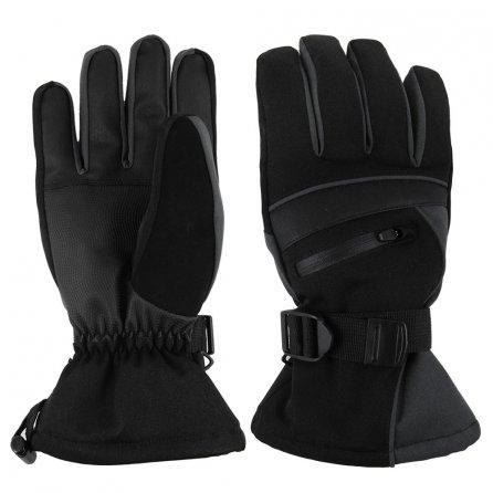 Treviso Blaze Ski Gloves (Kids') - Black/Charcoal