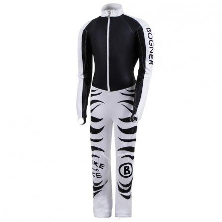 Bogner FX-4 GS Racing Ski Suit (Boys')  - Pure Black