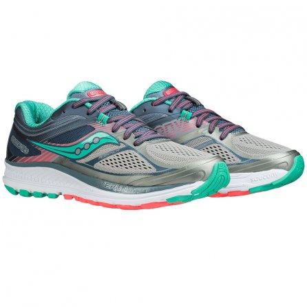 Saucony Guide 10 Running Shoe (Women's) - Grey/Teal