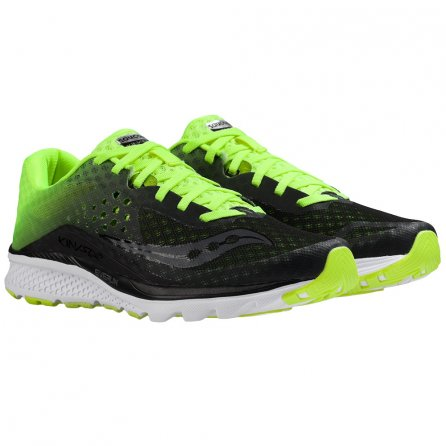 Saucony Kinvara 8 Running Shoe (Men's) - Black/Citron