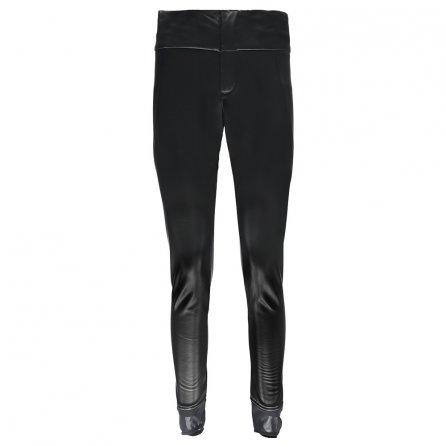 Spyder Painted On Stirrup Pant (Women's) - Black/Black