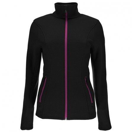Spyder Endure Full Zip Mid Weight Stryke Jacket (Women's) - Black/Raspberry