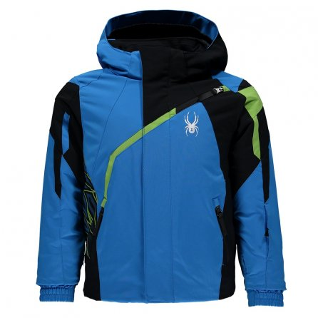 Spyder Mini Challenger Jacket (Little Boys') - French Blue/Black/Fresh