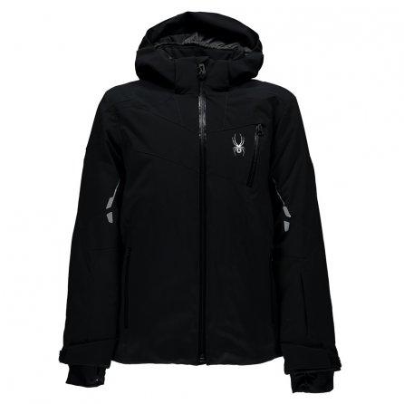 Spyder Speed Ski Jacket (Boys') - Black/Black/Black