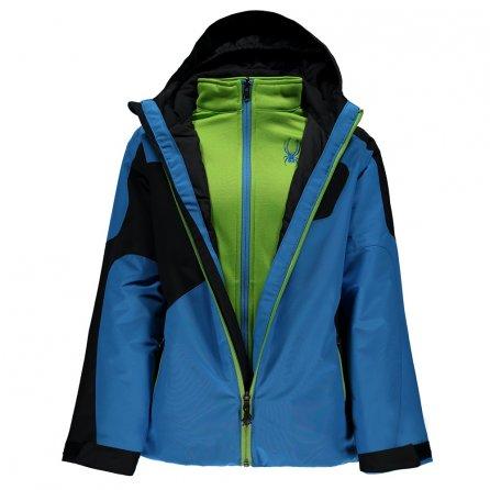 Spyder Reckon 3-in-1 Jacket (Boys') - French Blue/Black/Fresh
