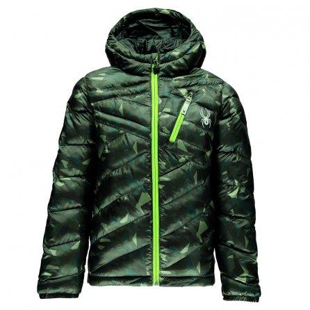 Spyder Dolomite Hoody Synthetic Down Jacket (Boys') - Mini Camo Guard