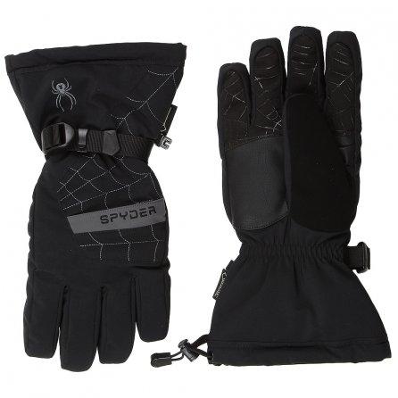 Spyder Overweb GORE-TEX Ski Gloves (Men's) - Black/Polar