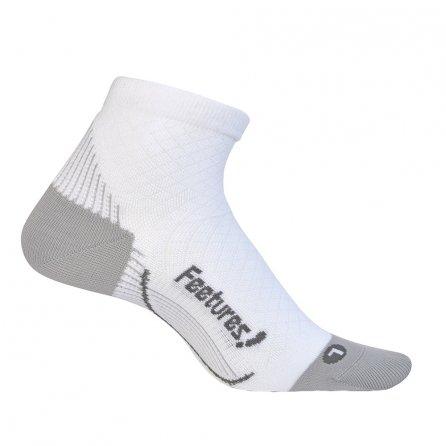 Feetures! Plantar Fasciitis Relief Sock (Men's) - White