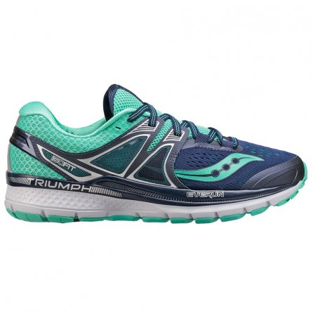 Saucony Triumph ISO 3 Running Shoes (Women's) - Navy/Blue
