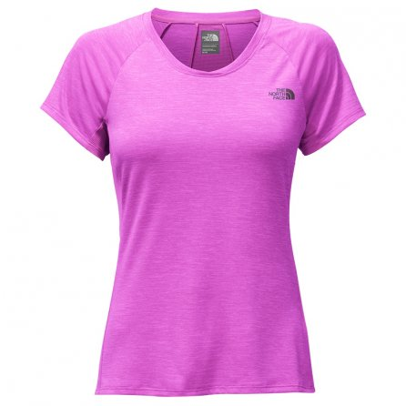 The North Face Ambition Short Sleeve Running Shirt (Women's) - Wood Violet Heather