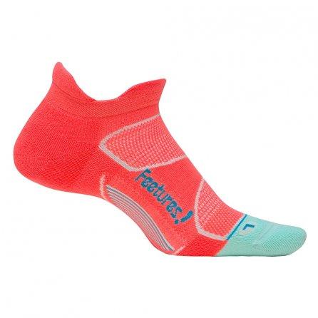 Feetures Elite Max Cushion Socks (Women's) - Jurassic/Blue Lagoon