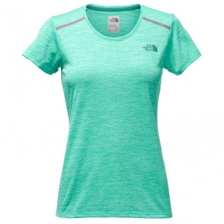 The North Face Adventuress Tee Shirt (Women's) - Pool Green Heather