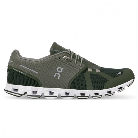 On Cloud Running Shoes (Men's) - Forest/Jungle