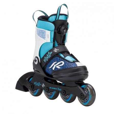 K2 Marlee Boa Inline Skates (Girls') - Blue/Black/White