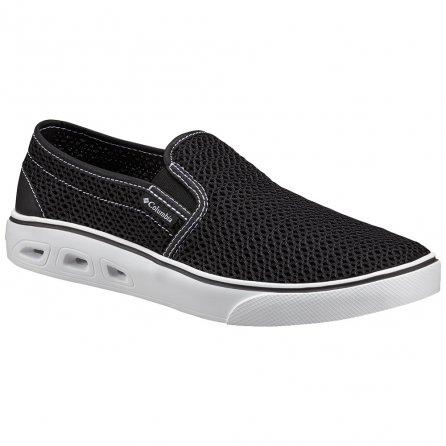 Columbia Spinner Vent Moc Shoe (Men's) - Black/White