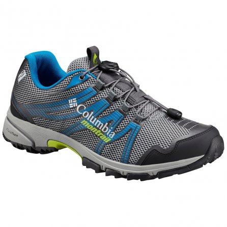 Montrail by Columbia MT Masochist IV Outdry Running Shoe (Men's) - TI Grey Steel/Bright Green